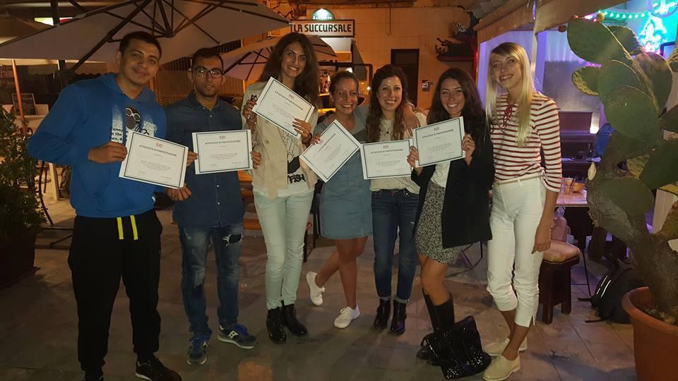 Attestato di partecipazione al corso di Russo livello A1 a Lecce